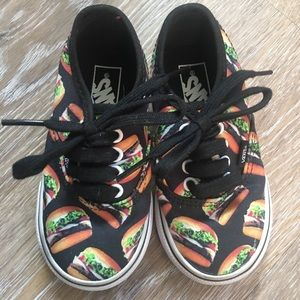 Toddler Size 6 Burger Vans